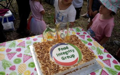 庆贺农业合作社FIG十岁生日. Food Co-Op FIG 10 years Birthday Party